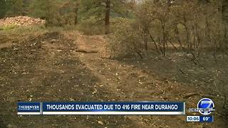 Some San Juan County residents forced to evacuate 416 Fire can return home Wednesday - Video
