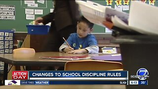 Changes to school discipline rules