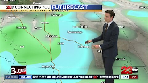 23ABC Evening weather update November 5,2020