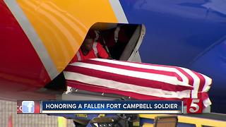 Remains Of Fort Campbell Soldier Returned To Tennessee - Video
