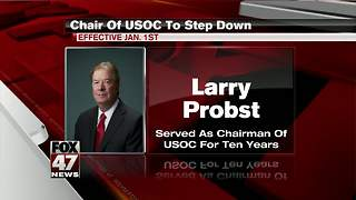 Probst to step down as USOC chairman after a decade