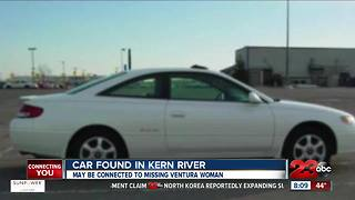 Car found in Kern River confirmed to belong to missing woman