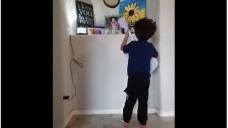 Little Boy Sings Birthday Song For Late Baby Sister