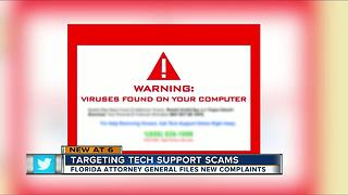 Tech Support Scams on the rise in Florida - Video