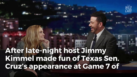 Jimmy Kimmel Responds To Ted Cruz's Challenge To Game Of One-on-one Basketball