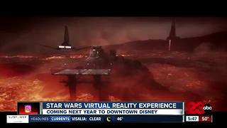 New Star Wars Virtual Reality Experience - Video