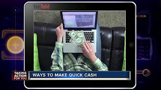 Ways to make quick cash
