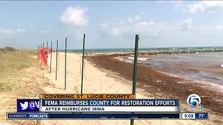 FEMA approves $9.5 million for St. Lucie County Hurricane Irma recovery - Video