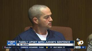 Family upset with judge's sentence - Video