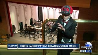 Young cancer patient creates musical magic