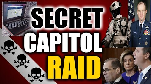 Did Special Forces Raid Pelosi's Office During Capitol False Flag Event?