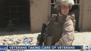 Veterans step up for veterans over the holiday - Video