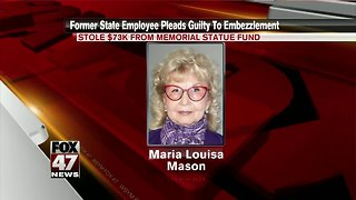Woman pleads guilty to stealing $86K Statue