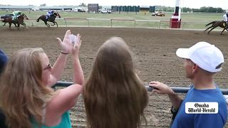 Omaha Sunday Morning: Horse racing, naturalization ceremony, Prudential Award, marching band - Video