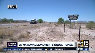 Dozens of national monuments under review - Video