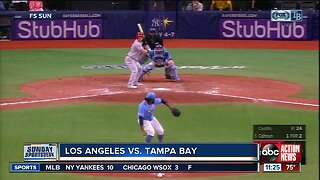 Tampa Bay Rays survive Los Angeles Angels' 9th inning rally