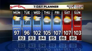 13 First Alert Weather for July 24 2017 - Video
