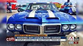 1969 Pontiac Trans AM given as wedding gift stolen from Kansas City garage - Video