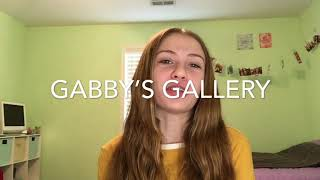 All About Me! First Video! Gabby's Gallery