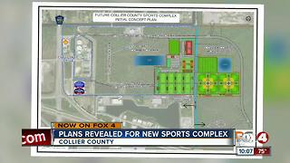 Plans revealed for new sports complex in Collier - Video