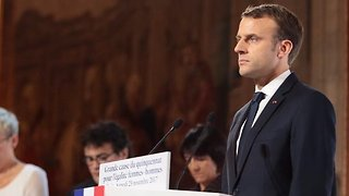 Macron: France To 'Strike' If Syria Used Chemical Weapons On Civilians