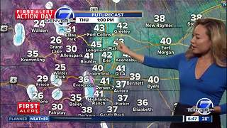 Snow tapers off- Clearing skies through the day state-wide Thursday - Video