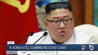 Fact or Fiction: NK no COVID cases?