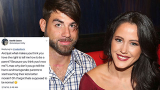 'Teen Mom' Star Jenelle Evans' Husband FIRED from Show After Homophobic Twitter Rant - Video