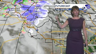 Incoming winter storm will have snow flying in Idaho's mountains
