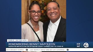 Benny Napoleon's daughter remembers his legacy