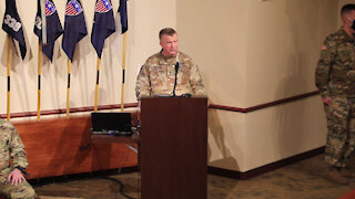 88th RD CSM Change of Responsibility Ceremony