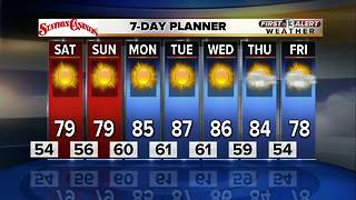 13 First Alert Las Vegas weather forecast for Friday evening October 13 - Video
