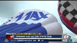 Indiana State Fair balloon race canceled - again - due to weather - Video