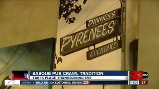 Basque pub crawl tradition continues - Video
