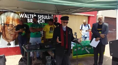 SOUTH AFRICAN - Cape Town - ANC launches Lentegeur Water Campaign (video) (RBu)