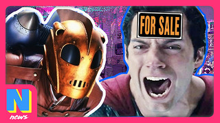DC Comics Being SOLD by Warner Bros? Rocketeer Coming to Disney Jr | NerdWire News - Video