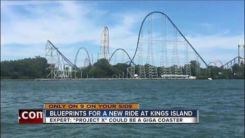 We uncovered blueprints for a new Kings Island ride