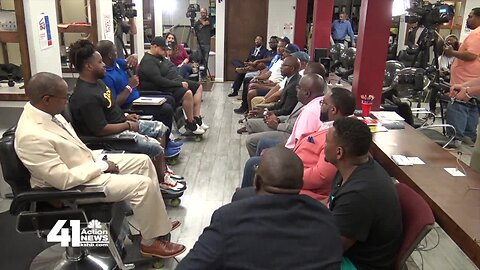 Barbershop panel: More work to be done between police, community