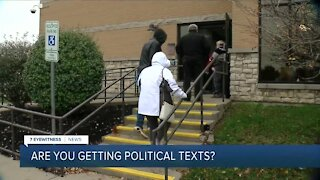 Are you getting political texts?