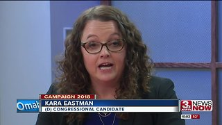 Bacon and Eastman Clash on Issues