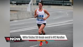 Local woman makes her mark at NYC Marathon - Video