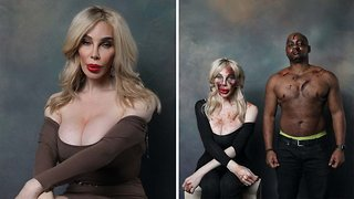Trans models photographed beaten up as part of trans awareness week photoshoot