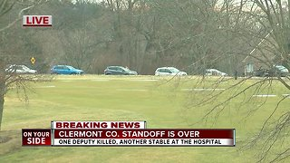 Clermont County standoff is over