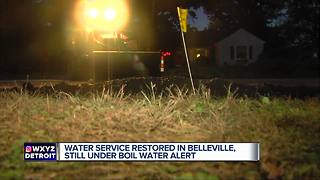 Boil water advisory issued for City of Belleville - Video