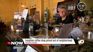 Longtime coffee shop priced out of South Park neighborhood - Video