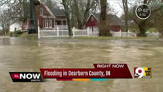 Flooding in Dearborn County - Video