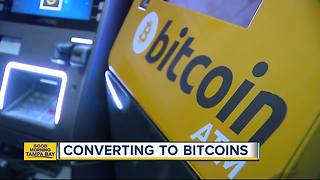 Time to buy Bitcoin? Popular St. Pete bar is a hot spot for investors in digital currency - Video