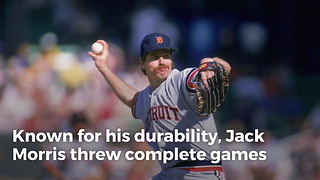 Jack Morris Becomes A Hall Of Famer - Video