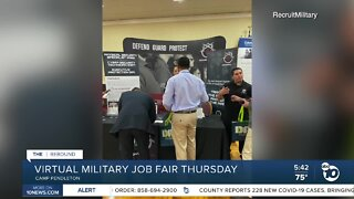 Virtual military job fair being held this week