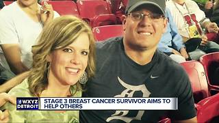 Plymouth breast cancer survivor shares her story to help save lives through early detection - Video